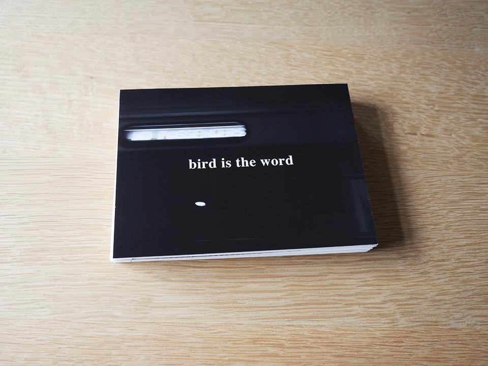 bird is the word bookwork #1 for website